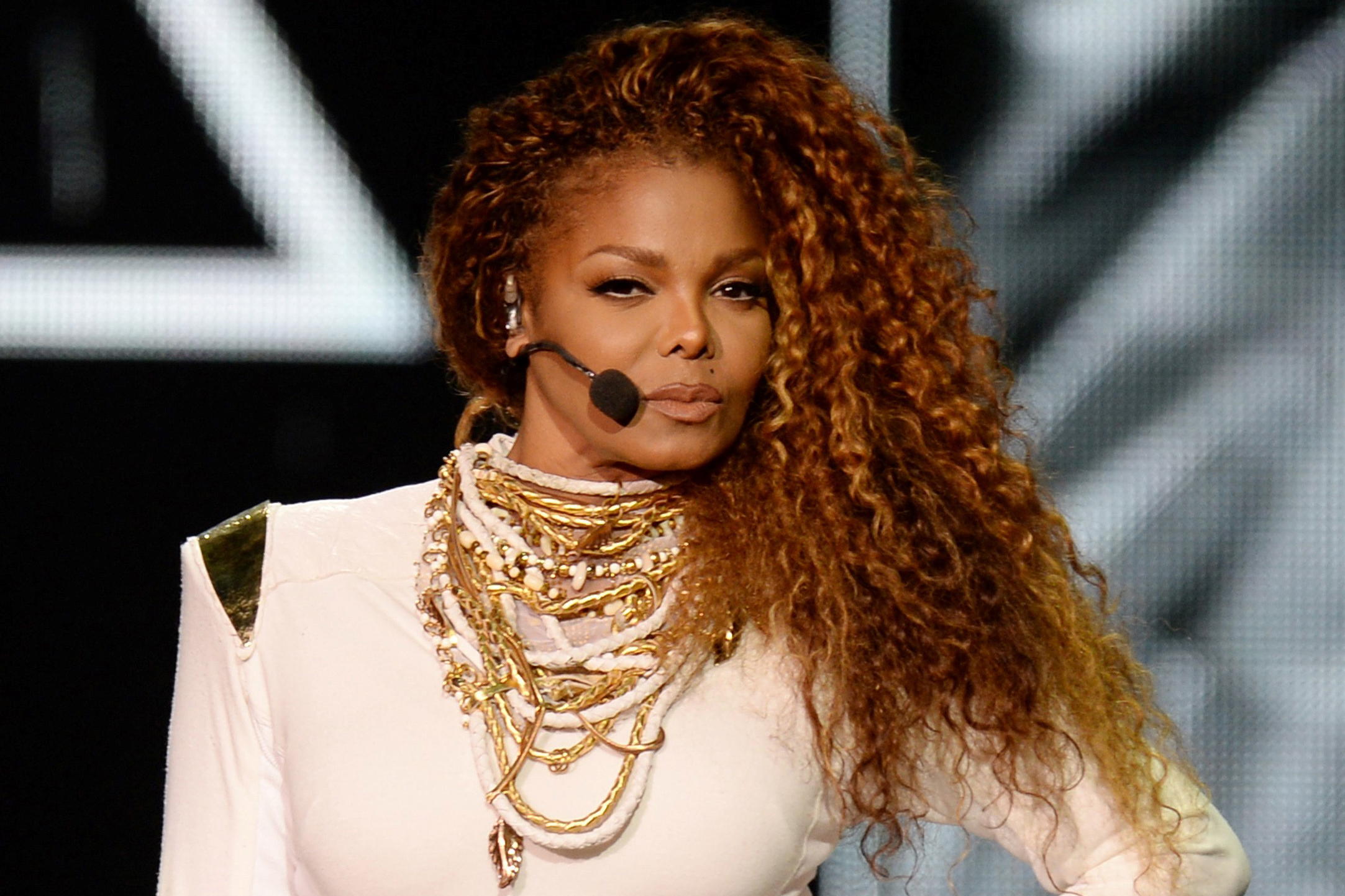 Janet Jackson in Miami during Unbreakable Tour