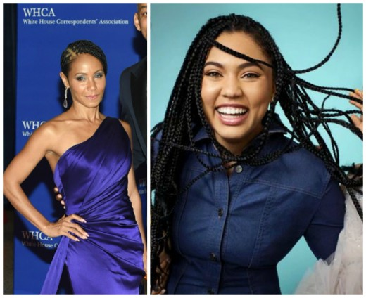 ayesha curry and jada pinkett smith box braids