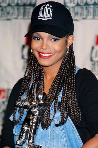 Janet Jackson during the 1994 MTV VMAs.
