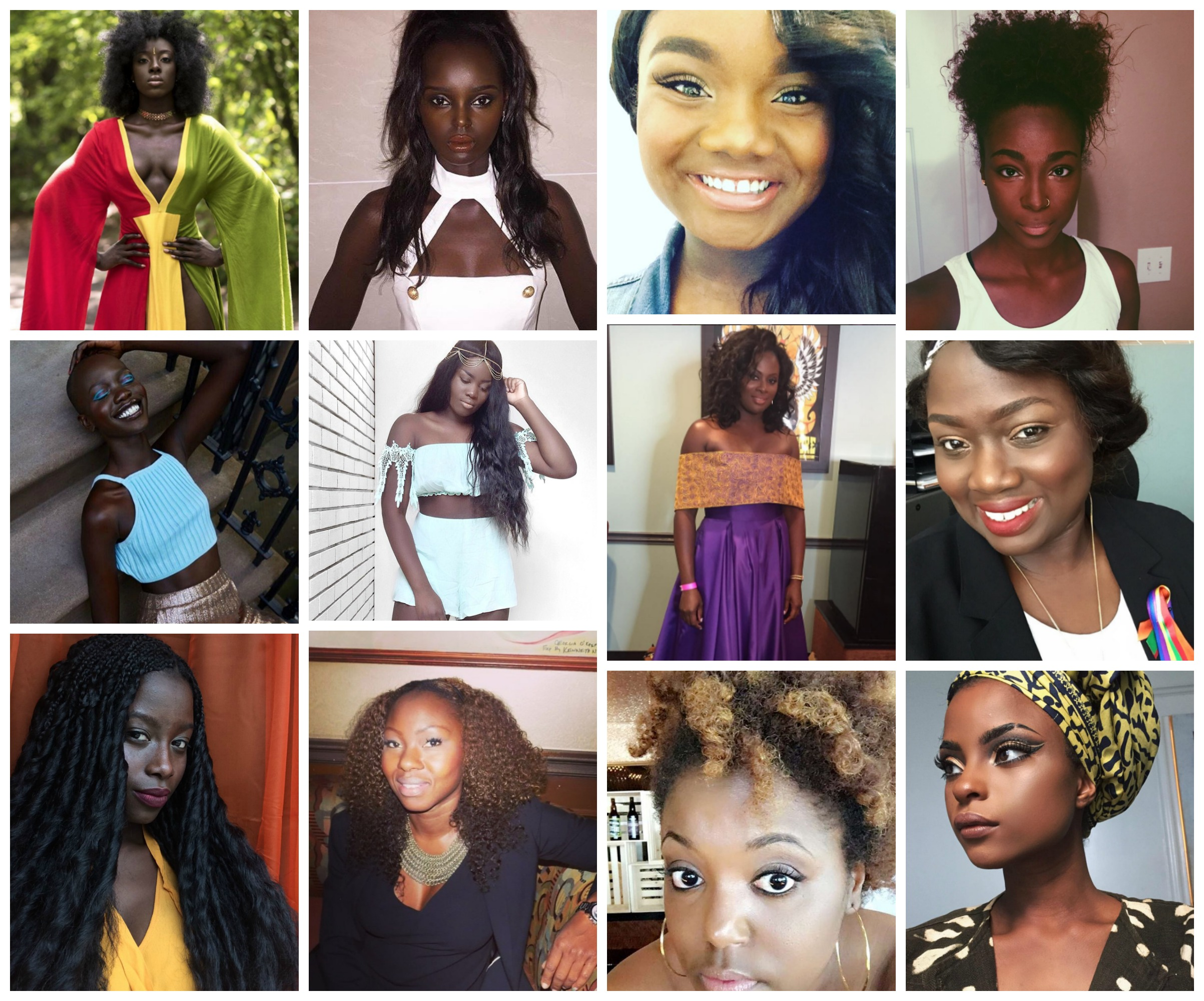 dark skin beauties