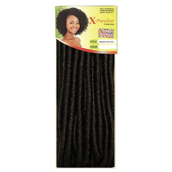 Sensationnel Synthetic Hair Crochet Braids X Pression Nubian Faux