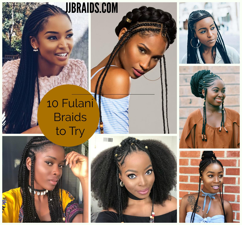 10 Fulani Braids Styles To Try Out Soon Jjbraids